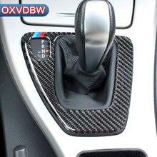For bmw e90 e92 Carbon Fiber Sticker Decorative Cover trim Strip for Car Control Gear Panel 3 series accessories Car Styling цена в Москве и Питере