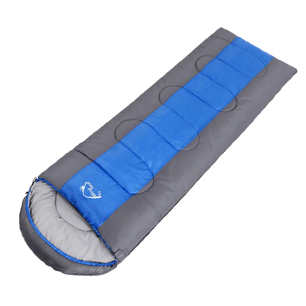 Windtour 2 3KG Adult Outdoor Ultralight Envelope Sleeping Bag Camping Outdoor Travel Waterproof Sleeping Bed