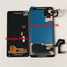 """Original Supor AMOLED M & Sen 5.0 """"สำหรับ Google Pixel 2 จอ LCD + Digitizer แผงสัมผัส 6.0"""" สำหรับ Google Pixel 2 XL"""