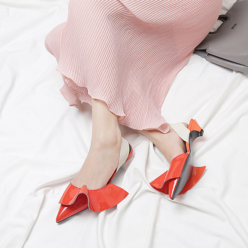 As Hanbaid Haute En Sangle Bout Femmes Cuir Sandales Show Boucle as Outfit Show Gladiateur Talons Sexy Pointu Pompes Chaussures wwZqf5