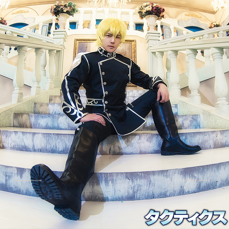 Milky Way Anime Legend of the Galactic Heroes Cosplay Costume Reinhard von Lohengramm Cosplay Costume