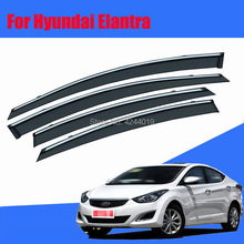 Car Sun Visor Window Rain Shade for Plastic Accessories For Hyundai Elantra