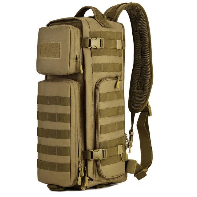 Large Capacity Rucksack Man Travel Bag Mountaineering Backpack  Waterproof Luggage Canvas Bucket Shoulder Bags Utility Backpacks