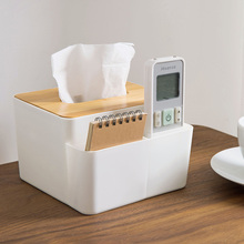 Bamboo Wooden Cover Tissue Box Creative Home Living Room Simple Plastic Remote Control Box Tissue Boxes Napkin Paper Holder vietnam autumn rattan tissue box creative living room pumping paper rattan straw tissue boxes bamboo simple tissue boxes a4530