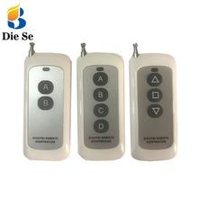 433MHz Universal Remote Control 1527 Learning Code 2 3 4 Button Transmitter For Smart Home Garage Door Opener no clone v2 gate door opener rolling code hand transmitter phox2 4 clone duplicator