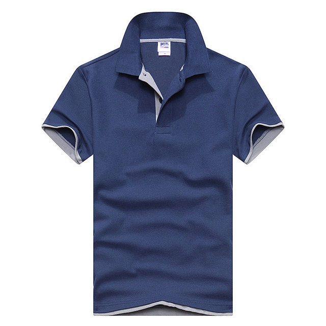 New 2019 Men's brand men Polo shirt D esigual Men's cotton short-sleeved polo shirt sweatshirt T-ennis Free shipping XS-3XL 5