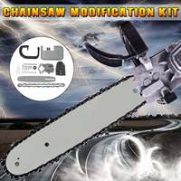 10/11.5/12inch 33cm DIY Chainsaw Changed 100 125 150 Angle Grinder Into Chain Saw for Electric Saw Parts Woodworking Tool