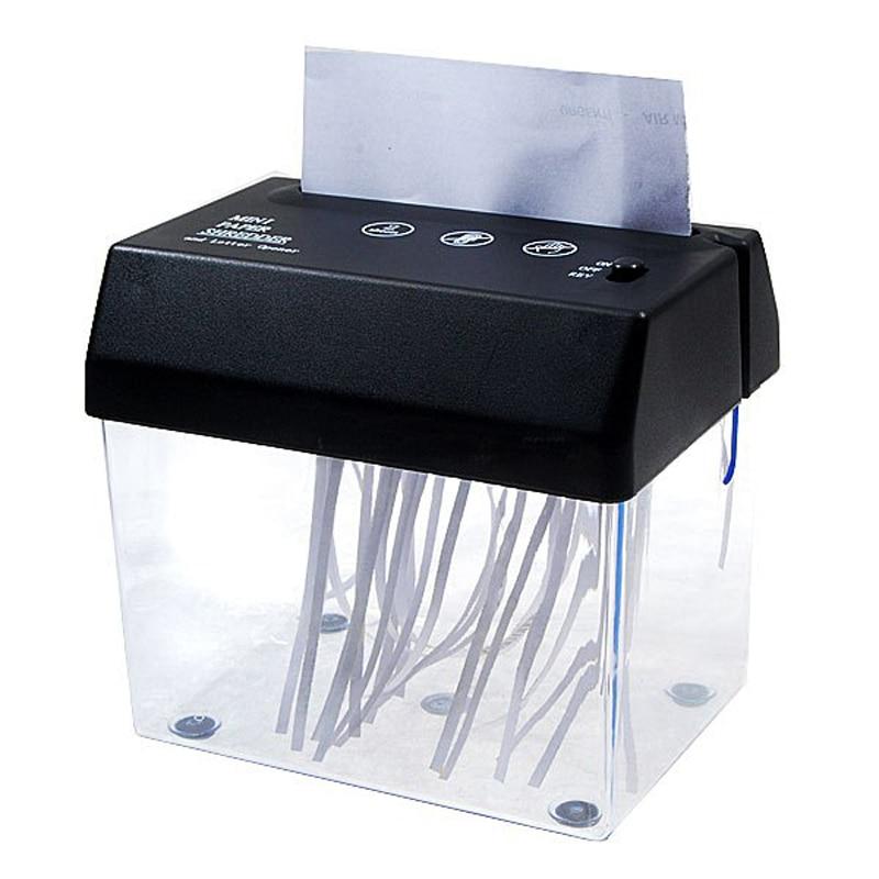 Trituradora de papel mmini USB, trituradora de letras, escritorio, portátil, oficina en casa