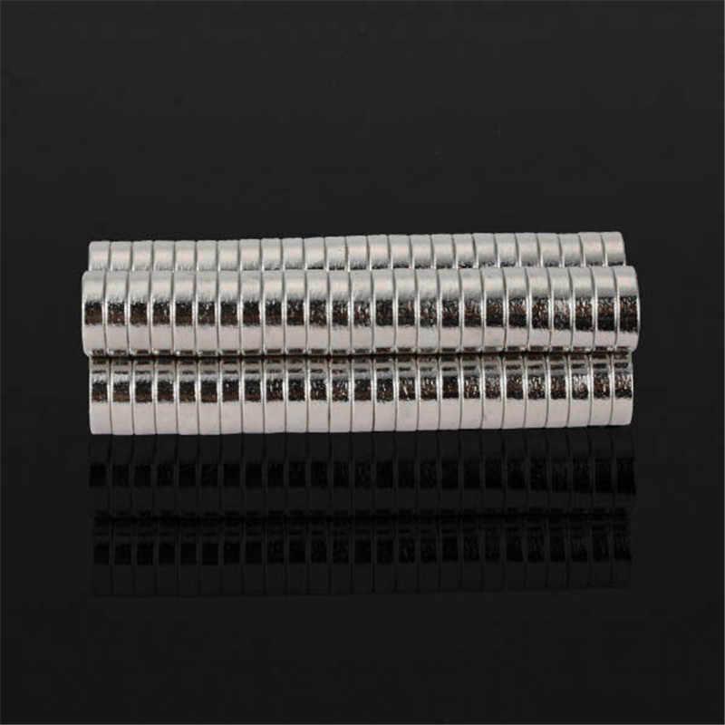 100 unids/set N48 7mm x 2mm, Super fuerte imanes de disco raras tierra imanes de neodimio