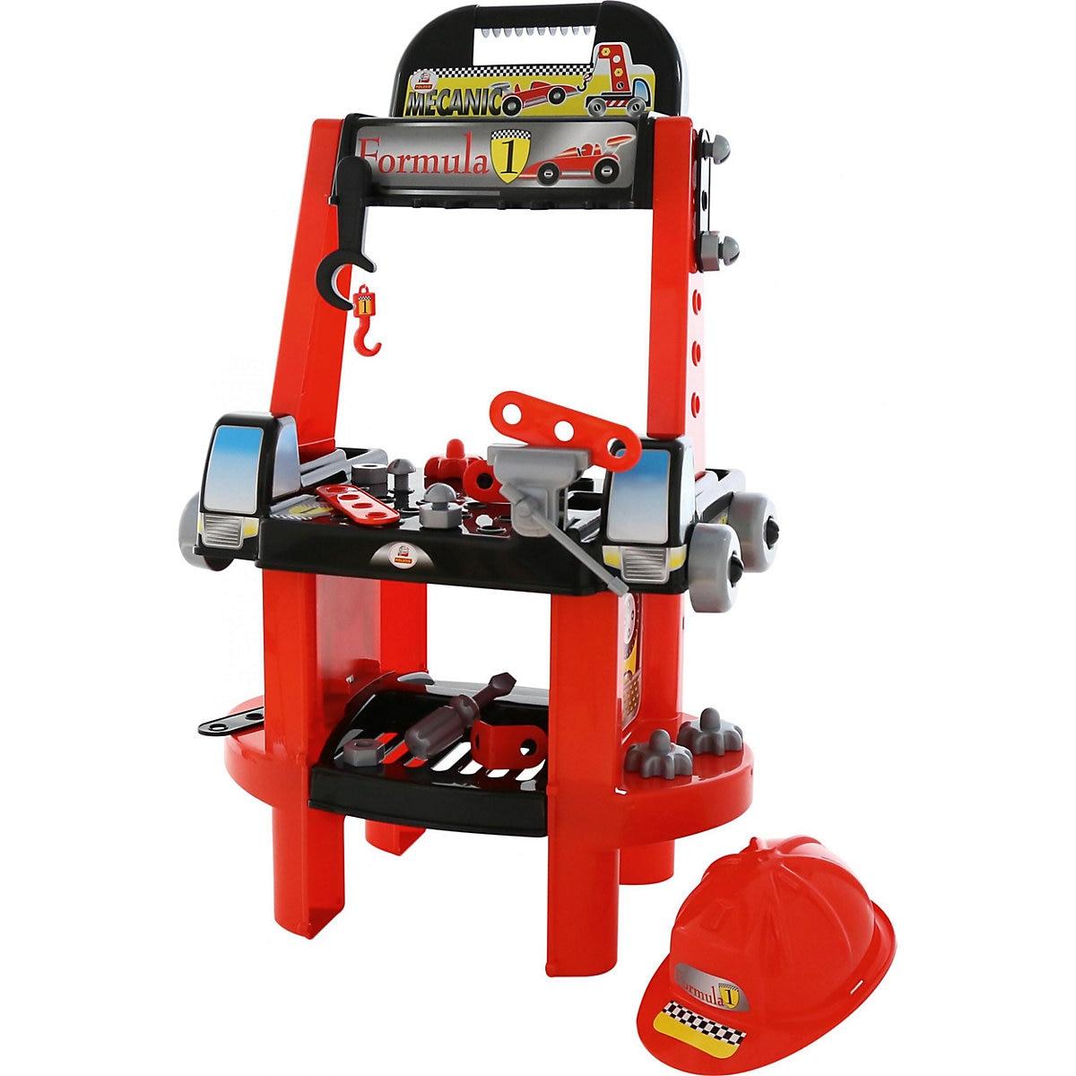 Polesie outil jouets 7191543 semblant jouer jouet pour garçons outils de construction ensemble jeu garçon mécanicien
