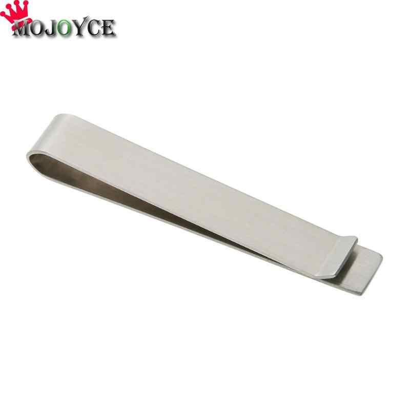 Clips de dinero de acero inoxidable de alta calidad carpeta Clip de Metal Clip de dinero Simple abrazadera de dinero de acero inoxidable
