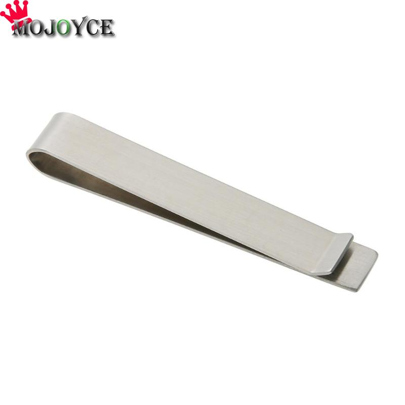 High Quality Stainless Steel Money Clips Wallet Folder Clip Collar Metal Clip Simple Money Clip Stainless Steel Money Clamp