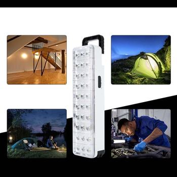 Waterproof 30LED Multi-Function Rechargeable Emergy Light Flashlight Mini 60 LED Emergency Light Lamp For Home Camp Outdoor 5