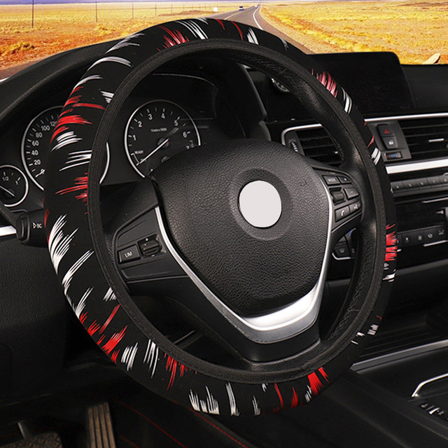 car steering wheel cover universal elastic band steering wheel covercar steering wheel cover universal elastic band steering wheel cover auto supplies car interior accessories soft fashion