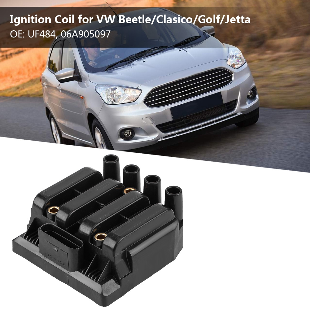 Ignition Coil for VW Beetle Clasico Golf Jetta UF484 06A905097 Ignition Coil for VW UF48 06A905097