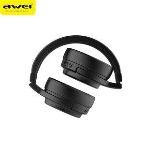 Image 4 - Original AWEI A950BL หูฟังบลูทูธ ANC ลดเสียงรบกวนไร้สาย bluetooth หูฟังหูฟังกับไมโครโฟนแฮนด์ฟรี