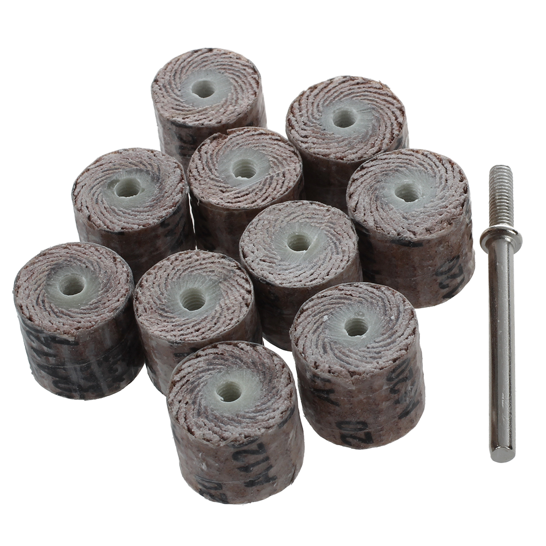 12 X 14 X 3mm 120-grit Brush Grinding Tool Flap Wheel Fine Hho 10 Pieces To Be Highly Praised And Appreciated By The Consuming Public