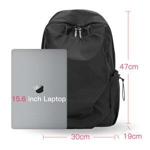 Image 3 - Plecak podróżny Hk plecak Oxford męski materiał Escolar Mochila marka jakości torba na laptopa czarna spersonalizowana moda torba