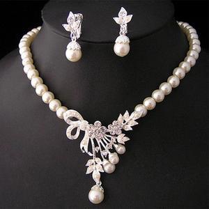 Vintage Simulated Pearl Jewelr
