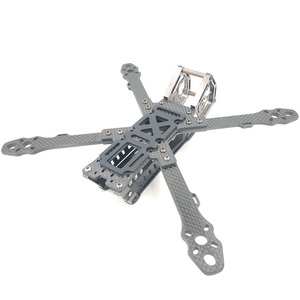Image 4 - AlfaRC זיקית 5/6/7 אינץ סיבי פחמן 230mm/260mm/290mm בסיס גלגלים מסגרת fpv Quadcopter מירוץ Drone