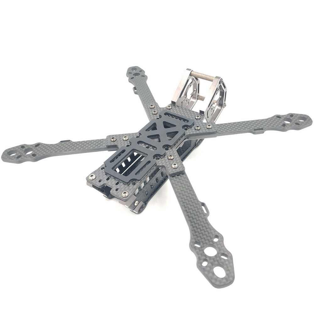 AlfaRC caméléon 5/6/7 pouces Fiber de carbone 230mm/260mm/290mm cadre d'empattement Fpv quadrirotor Drone de course