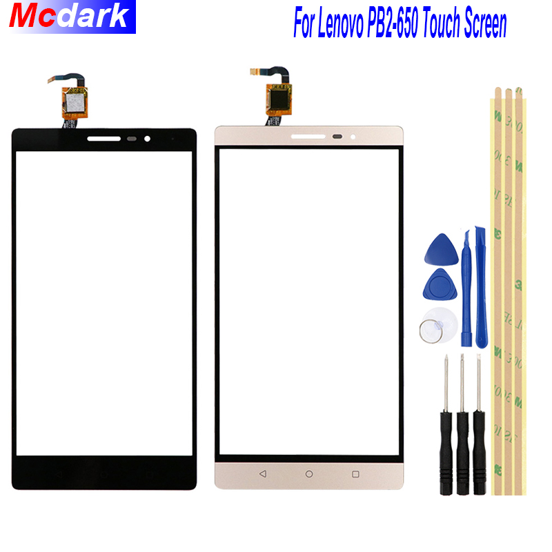 For Lenovo PHAB2 PB2-650 Touch Screen Digitizer Glass Replace Panel For Lenovo PB2-650M PB2-650N Replacement Parts+ Tools For Lenovo PHAB2 PB2-650 Touch Screen Digitizer Glass Replace Panel For Lenovo PB2-650M PB2-650N Replacement Parts+ Tools