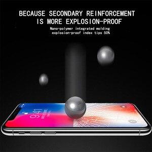 Image 5 - 5D スクリーンプロテクターガラス iphone 6 6x7 8 フルカバー強化ガラス 7 8 プラス XR XS 最大保護フィルム