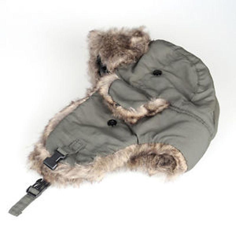 Thefound 2020 Fashion Earflap Warm Russian Ski Hat Trapper Aviator Trooper Mens Womens Winter