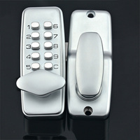 Door Gate Digital Push Button Lock Key Pad Code Combination Right Left Hand
