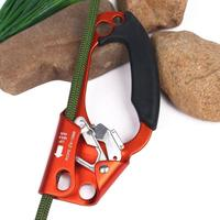 Hand Ascender Rock Climbing Tree Gear Equipment Rope Clamp for 8~13MM Rope
