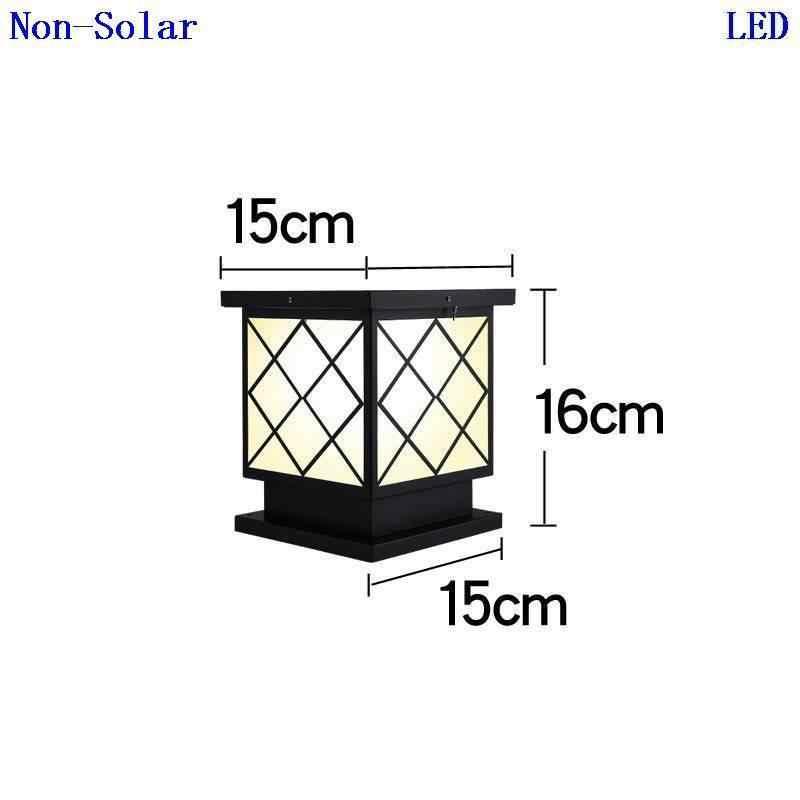 Iluminador лампа ворота Led Terraza Y Jardin Decoracion светильник Exterieur солнечное освещение для наружного использования фонарь для ландшафтного сада