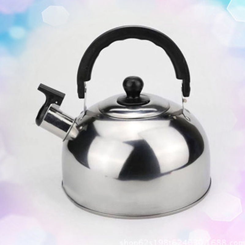 1Pc Blue Red Silver Whistling <font><b>Kettle</b></font> Stainless Steel For Electric Stove Gas Hob Camping Teapot <font><b>Kettle</b></font> Water Bottle Boat Cooking image