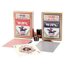 Entertainment Barcode PPlaying Cards Poker Game Deck Poker Set Plastic Magic Card Waterproof Cards Magic Black Core Paper uv ink printed barcode card and plastic member key card 3 part supply