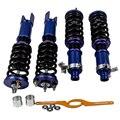 Полный комплект Coilover Подвеска для Honda Civic CX DX EX EXR HX LX 96-00 97 98 99 амортизаторы стойки