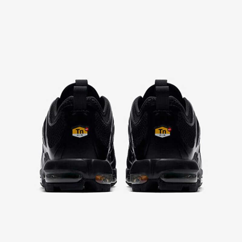 Nike air max plus tn nova chegada tênis de corrida dos homens respirável clássico almofada de ar lazer tempo ao ar livre #898015-002