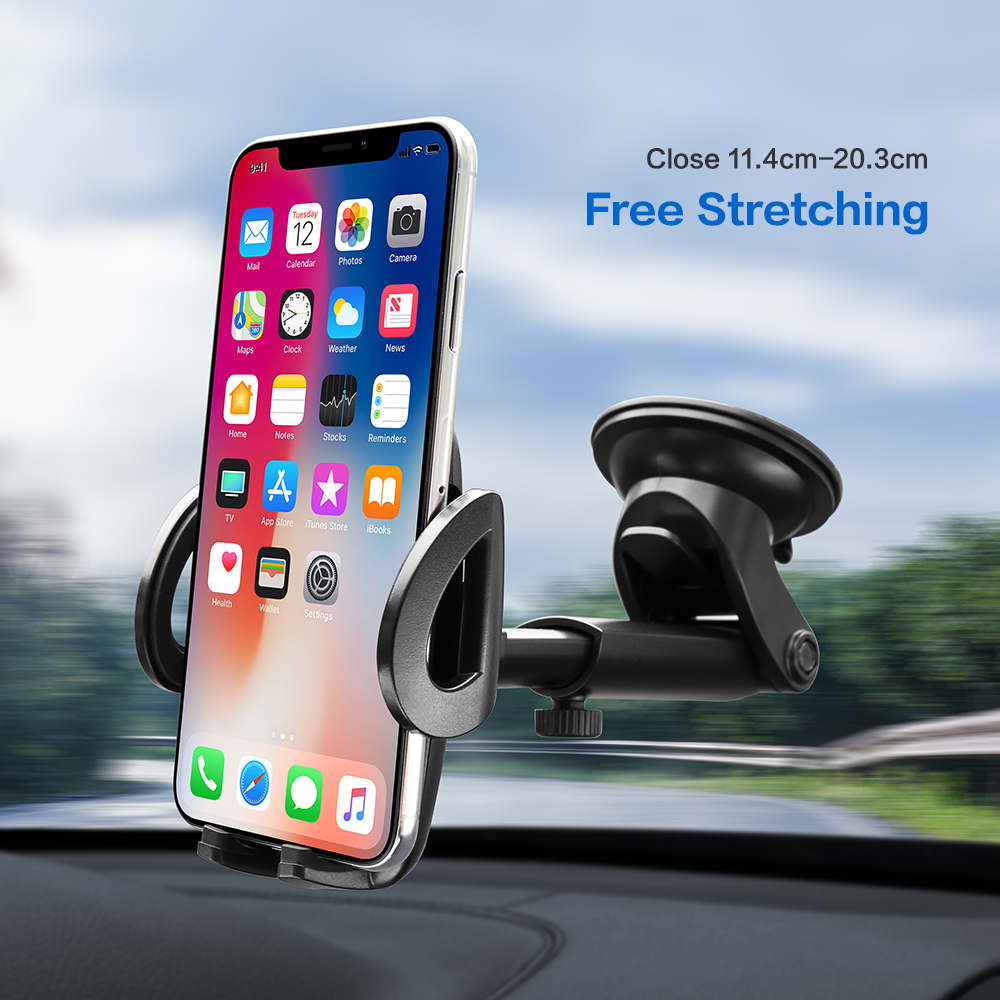 FLOVEME Car-Phone-Holder Galaxy Samsung Automatic iPhone X 7-Plus Universal for S10/S9/S8