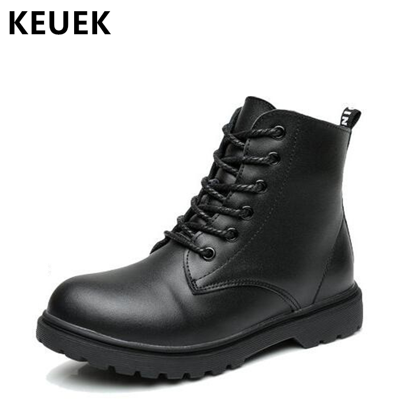 Autumn Winter Children Martin boots Boys Girls shoes Ankle boots Genuine leather Kids Snow boots Outdoor Military boots 020Autumn Winter Children Martin boots Boys Girls shoes Ankle boots Genuine leather Kids Snow boots Outdoor Military boots 020