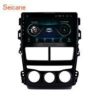 Seicane автомобиля радио для 2018 Toyota Vios Авто кондиционер Android 8,1 9 дюймов 2Din gps мультимедийный плеер Поддержка Bluetooth Wi Fi
