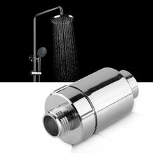 Bathroom Shower Head Filter Home Water Purifier Softener Chlorine Heavy Metal Remover Shower Purifier Replacement Part NEW overvalue in line chlorine shower head filter faucet softener remove water purifier chrome fit for kitchen