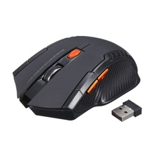 Professional Wireless Mouse 1200DPI 2 4G Gaming Mouse Laser Mouse Gamer Silence Built in Battery Computer