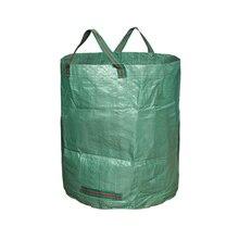 300л мешок для садовых отходов сорняков листьев Бин большой режущий мешок портативный мешок для переноски мусора мусорный мешок Бин с двойной прошитой ручкой