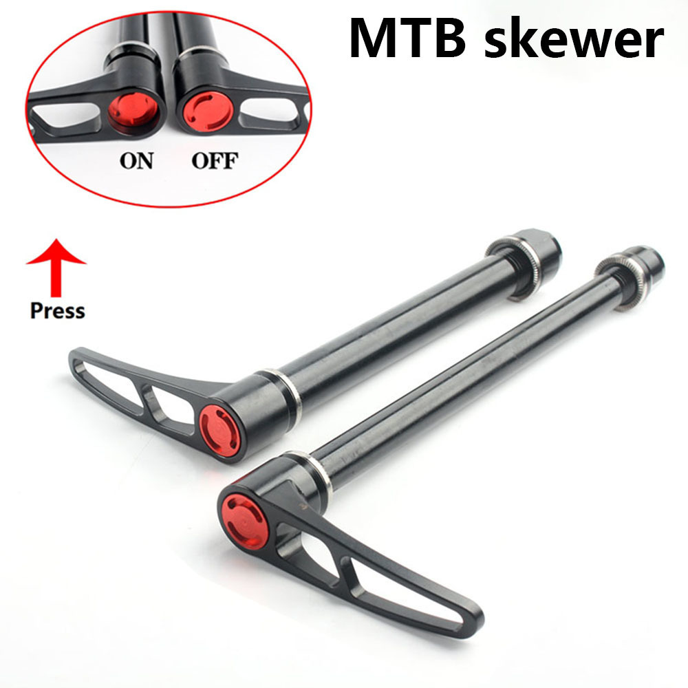 Alloy Material Thru Axle Skewers  Mountain Bike 15*100mm/12*142mm Mtb Alloy Skewer 171g Road Quick Release