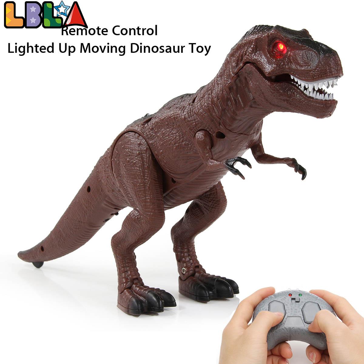 modelo de animal inteligente brinquedo infravermelho controle remoto andando brinquedo dinossauro para criancas figura brinquedo eletrico