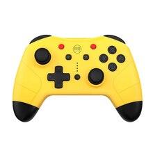 Новый беспроводной геймпад для Nintendo Switch Pro NFC игровой контроллер Bluetooth для N-Switch для консоли Joy-Con джойстик