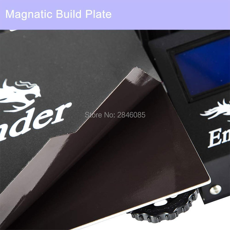 Image 4 - CREALITY 3D Ender 3 Pro Printer Printing Masks Magnetic Build Plate Resume Power Failure Printing DIY KIT MeanWell Power Supply3D Printers   -