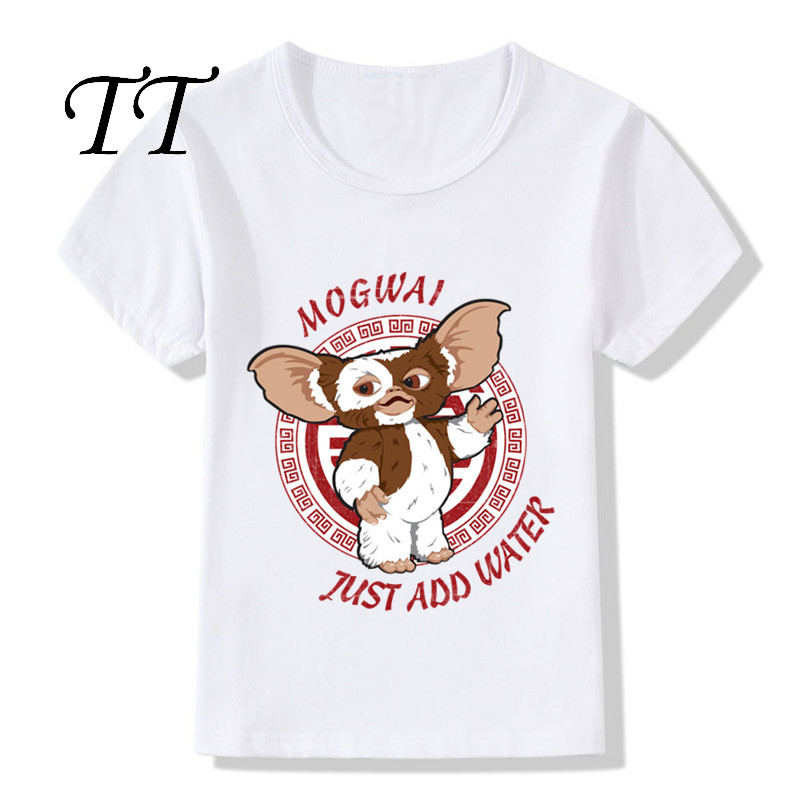 Cute Gremlins Gizmo Design Children's Funny T Shirts Baby Boys/Girls Short Sleeve Tops Tees Kids Summer Casual Clothes,HKP5170|T-Shirts| - AliExpress