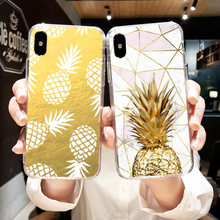 KISSCASE Pineapple Pattern Case for Huawei P20 P10 P9 P8 Lite Honor 9 8 Cute Fruits Soft Silicone Cover for Huawei P20 P10 P9(China)
