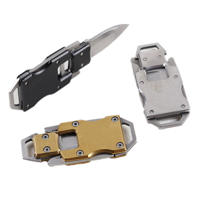 multi fold camp cutter Multipurpose pare combat open pocket edc portable defense peeler peel outdoor parcel letter self knife|Knives| - AliExpress