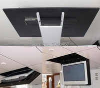 Free shipping hidden ceiling tv lift of DC motor for 75 tv