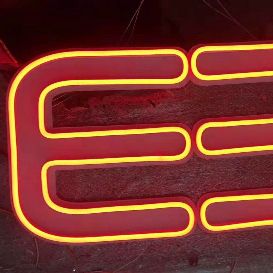 Customer advertising neon sign outdoor signage neon light letter image